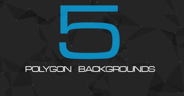 5 Polygon Backgrounds for Website
