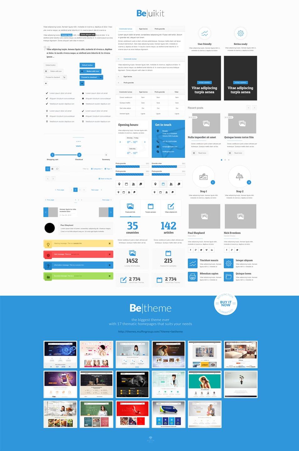 BeTheme Free UI Kit