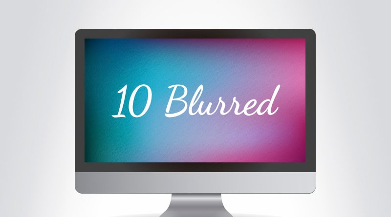 Blurred Dotted Abstract Backgrounds