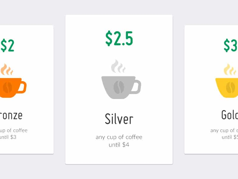 Coffee Plans Free UI PSD