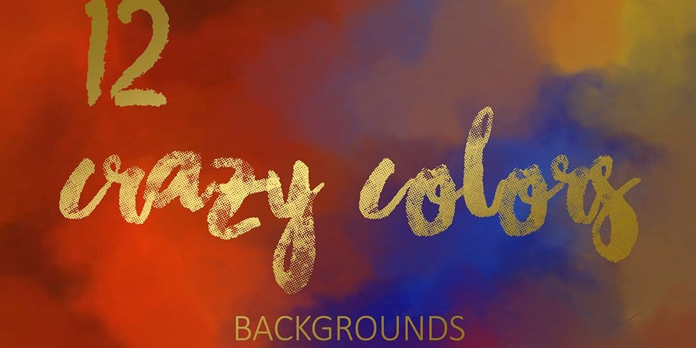Crazy Colors Backgrounds