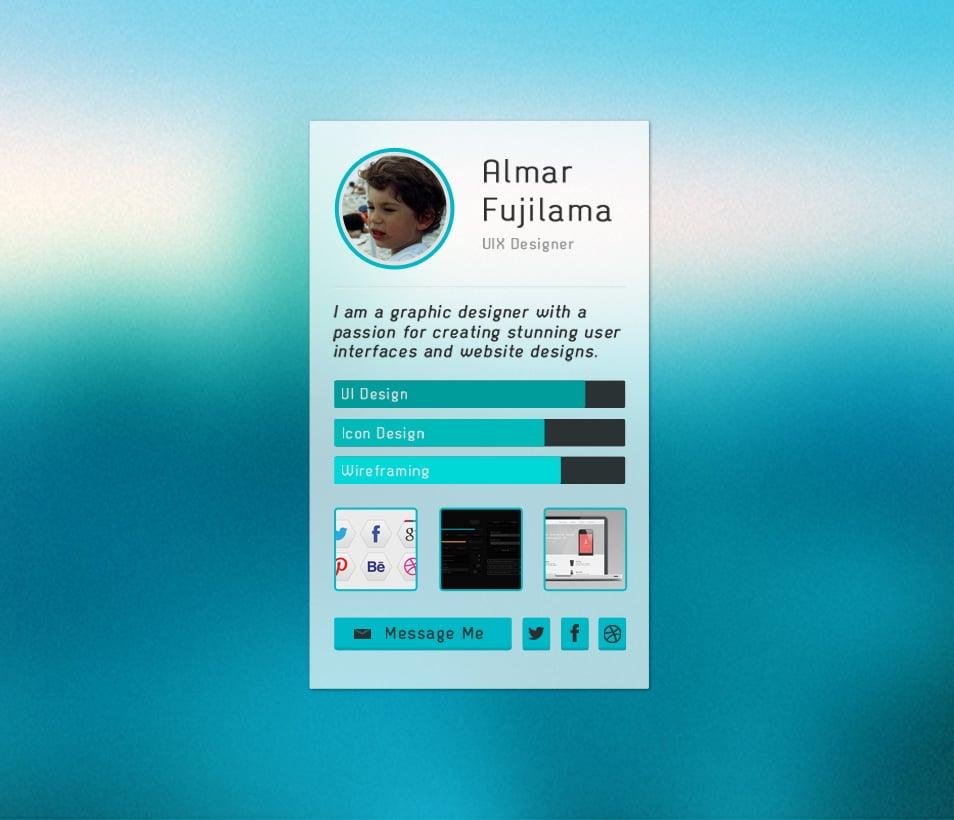Designer-Profile-Widget-PSD