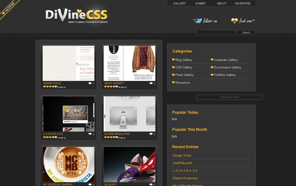 Divine CSS