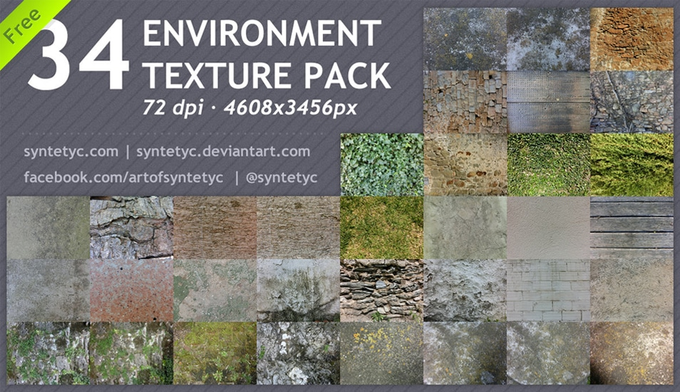 Free-34-Environment-Textures