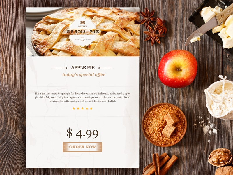 Free Apple Pie Widget