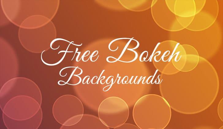 Free Bokeh Backgrounds