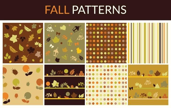 Free Fall Patterns