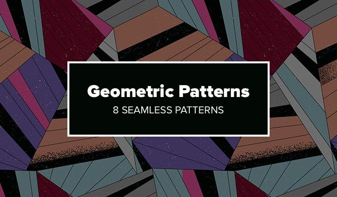 Free Geometric Patterns