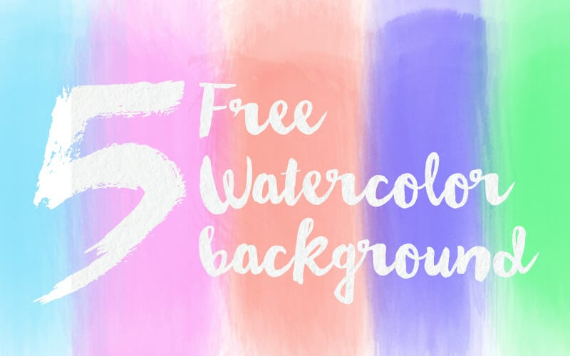 Free HD Watercolor Backgrounds PSD