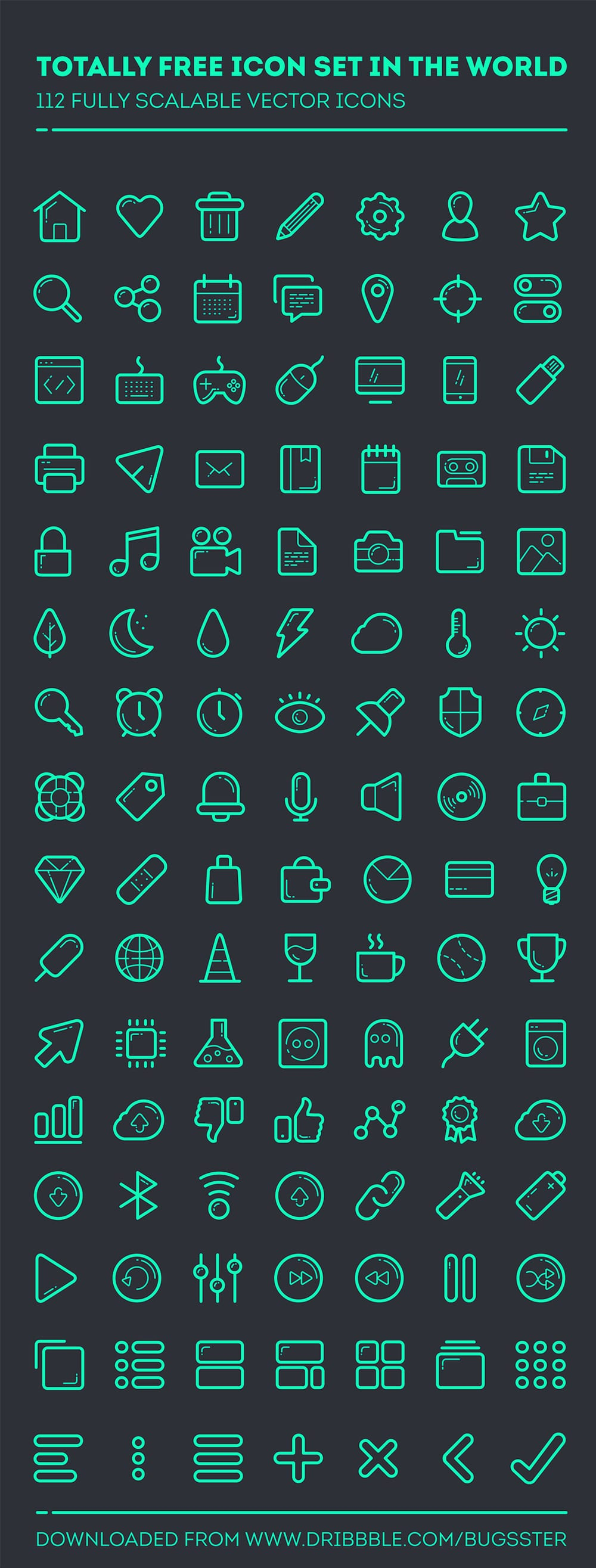 Free Icon Font
