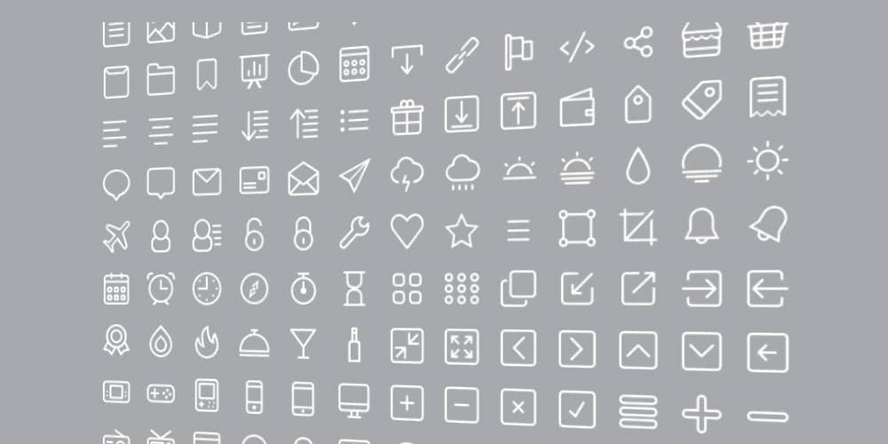 Free Icon Set PSD