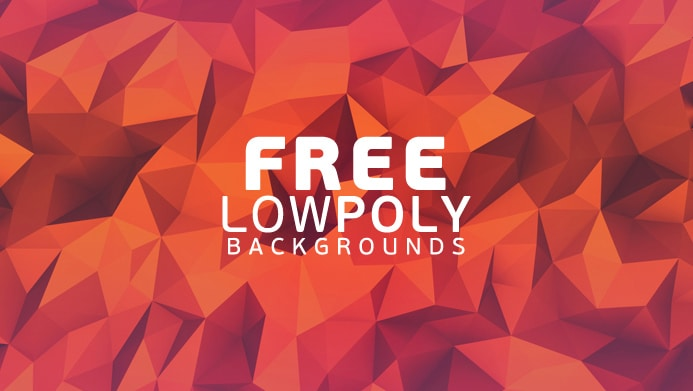 Free Low Poly Geometric Backgrounds