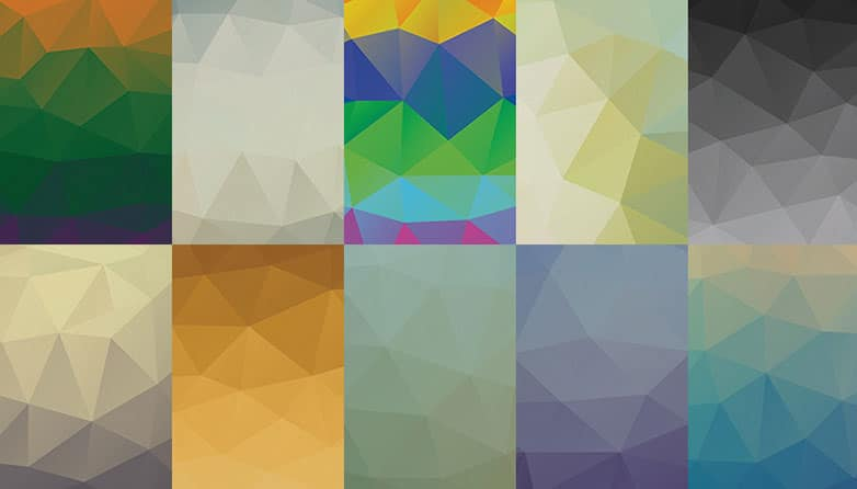 Free Low Poly PSD Backgrounds