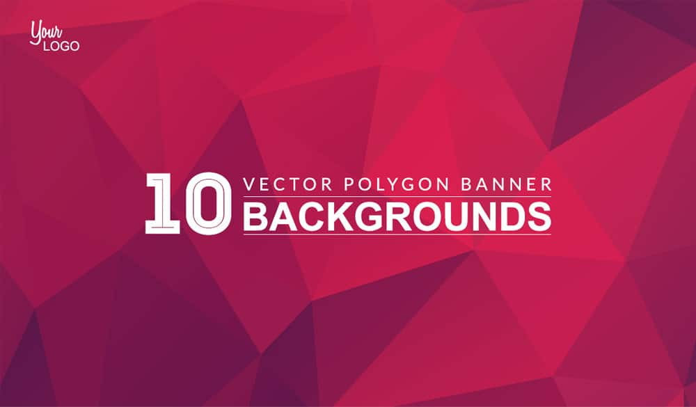 Free Polygon Background Banners