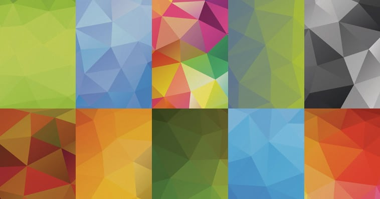 Free Polygonal Backgrounds