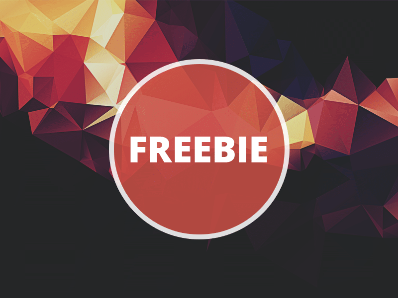 Free Polygonal / Low Poly Background