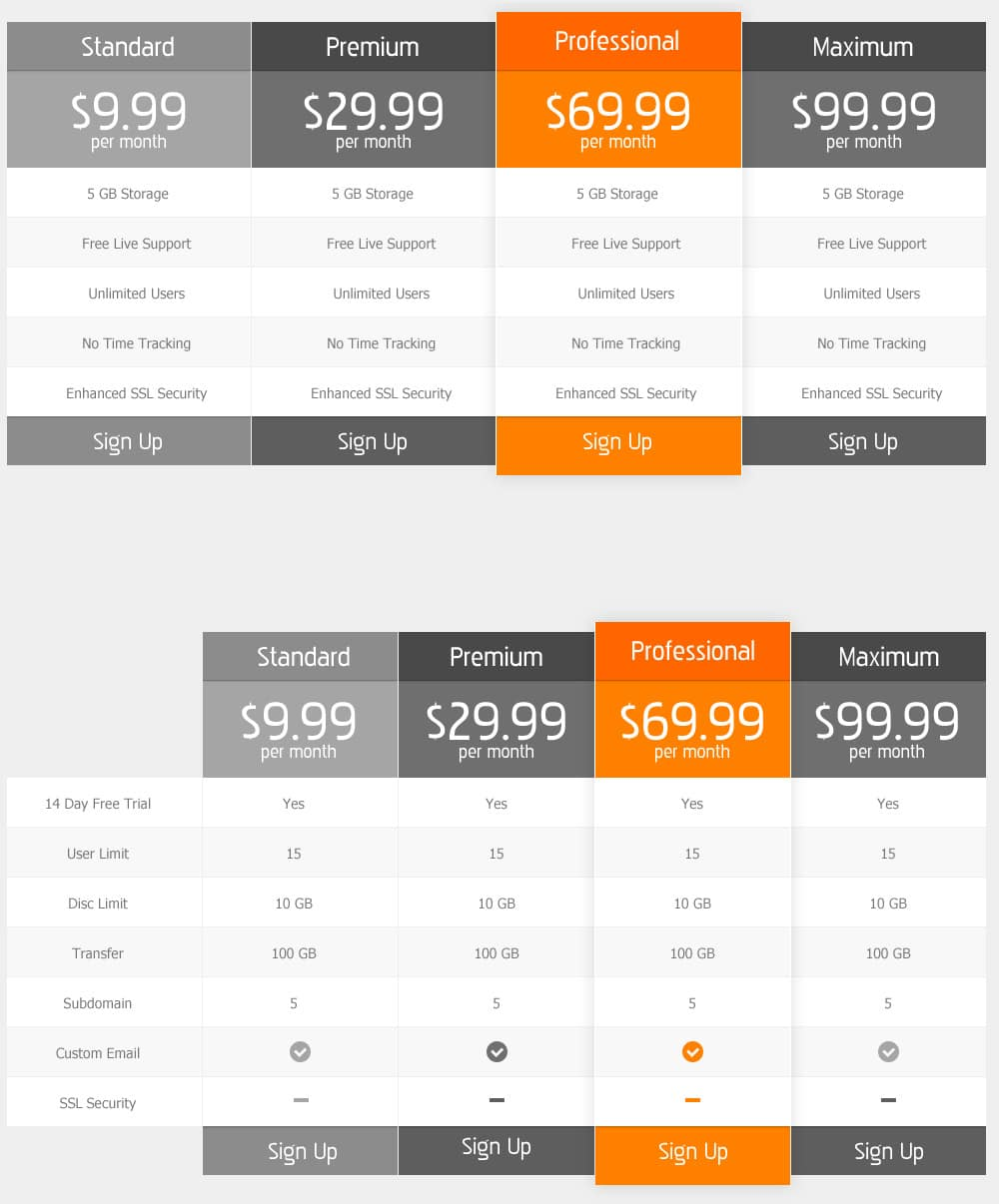 Free-Pricing-Table--PSD