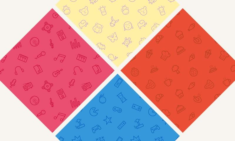Free Seamless Icon Patterns