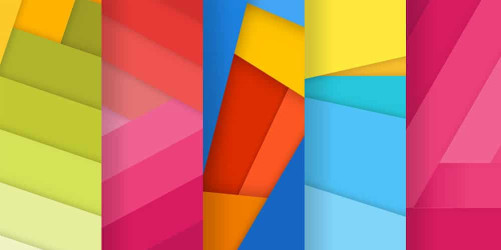 Free Set Of Material Design Backgrounds