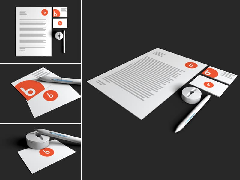 Free Stationery Mock-up