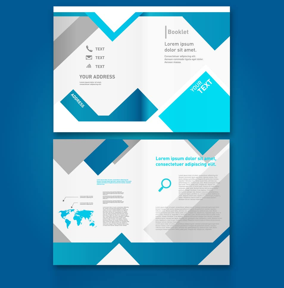 sample brochure template - latest free web elements from may 2014 css author