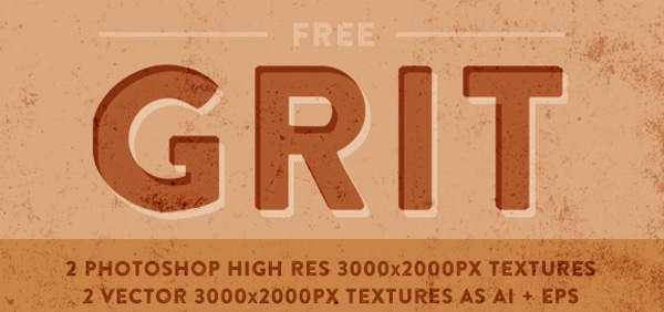 Free Vector + Raster Grit Textures