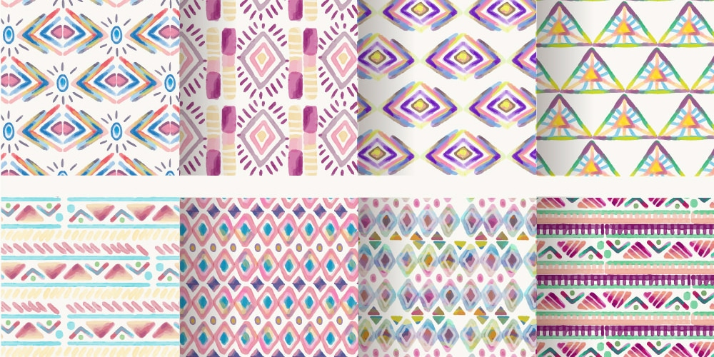 Free Watercolor Patterns