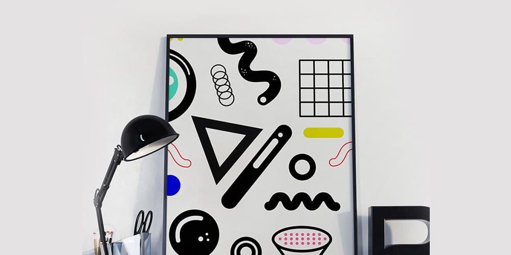 Geometric 80's Style Patterns