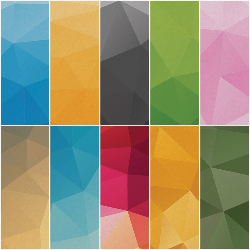 Geometric High Definition Backgrounds