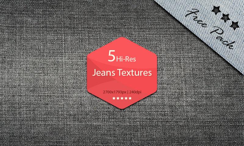 Hi-Res Jeans Textures Set