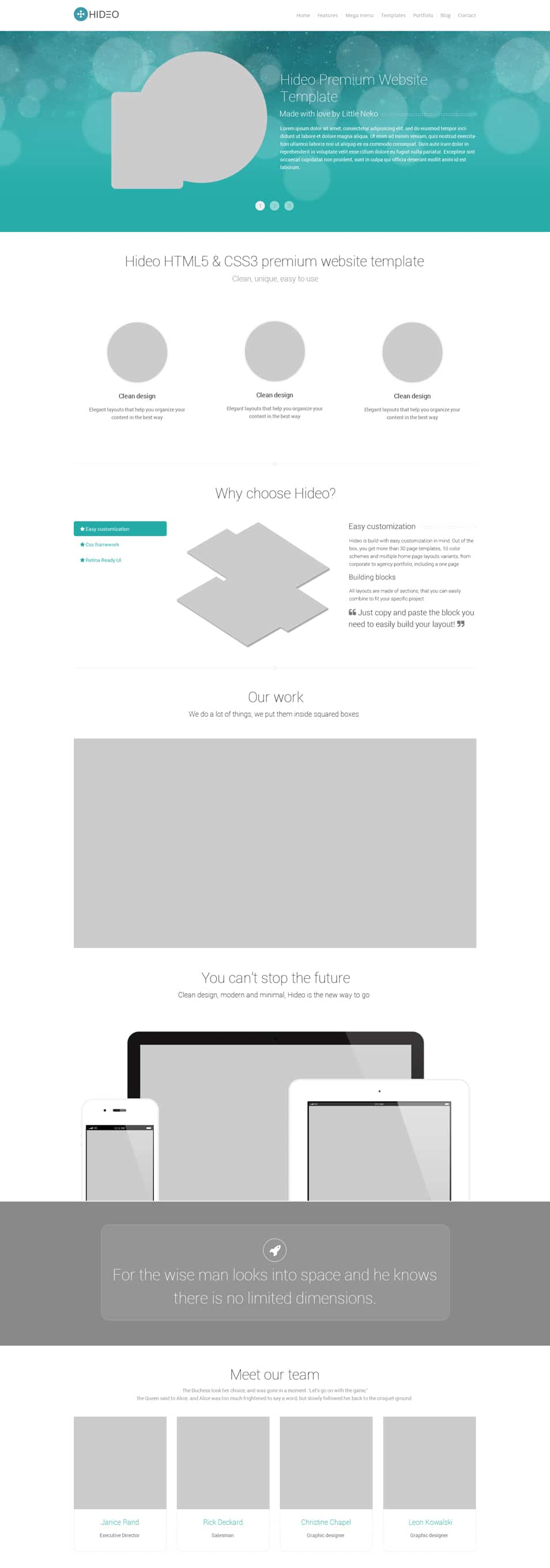Hideo-Website-Template-PSD
