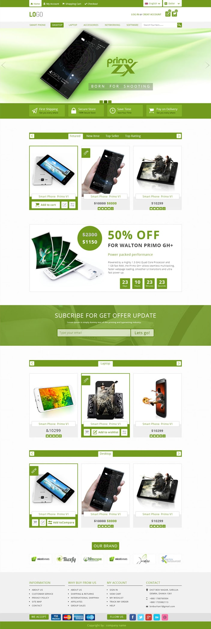 High-quality-E-commerce-PSD