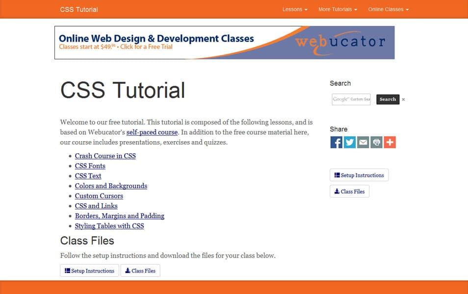 Learn CSS Ttutorial
