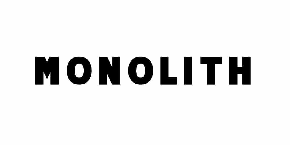 Monolith Free Typeface