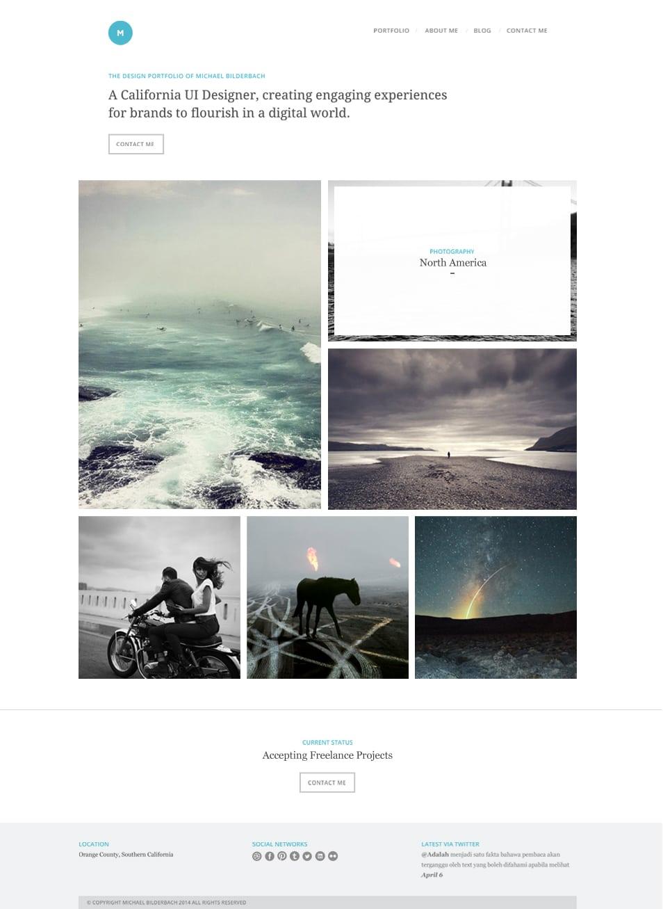 Portfolio-Homepage-PSD