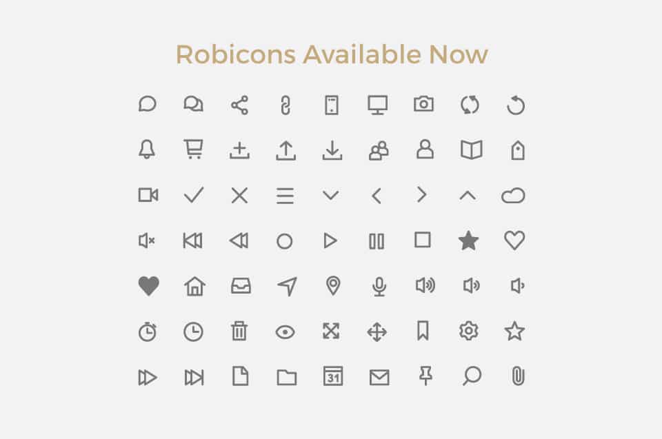 Robicons Font