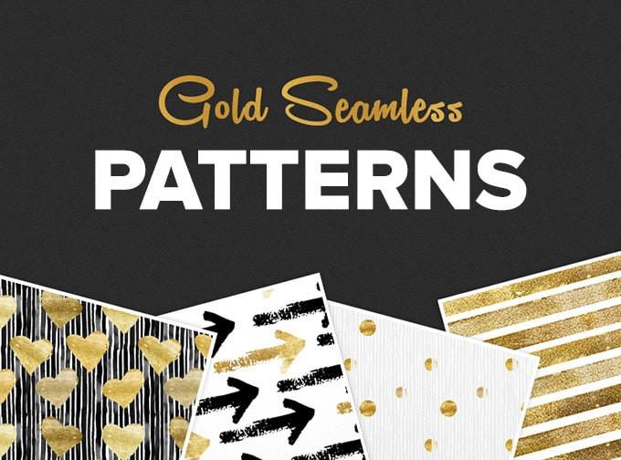 Seamless Gold Patterns
