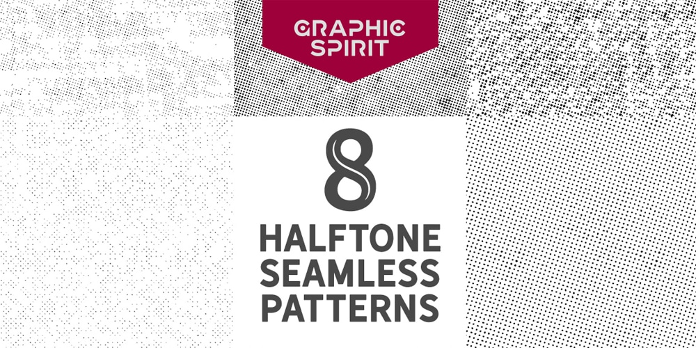 Seamless Halftone Dot Patterns