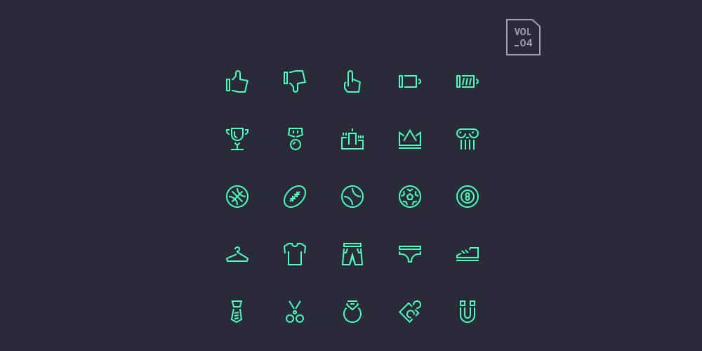 stroke-gap-icons-set