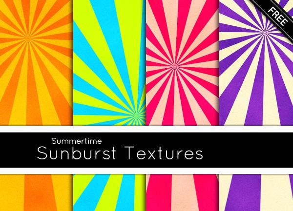 Summertime-Sunburst-Textures