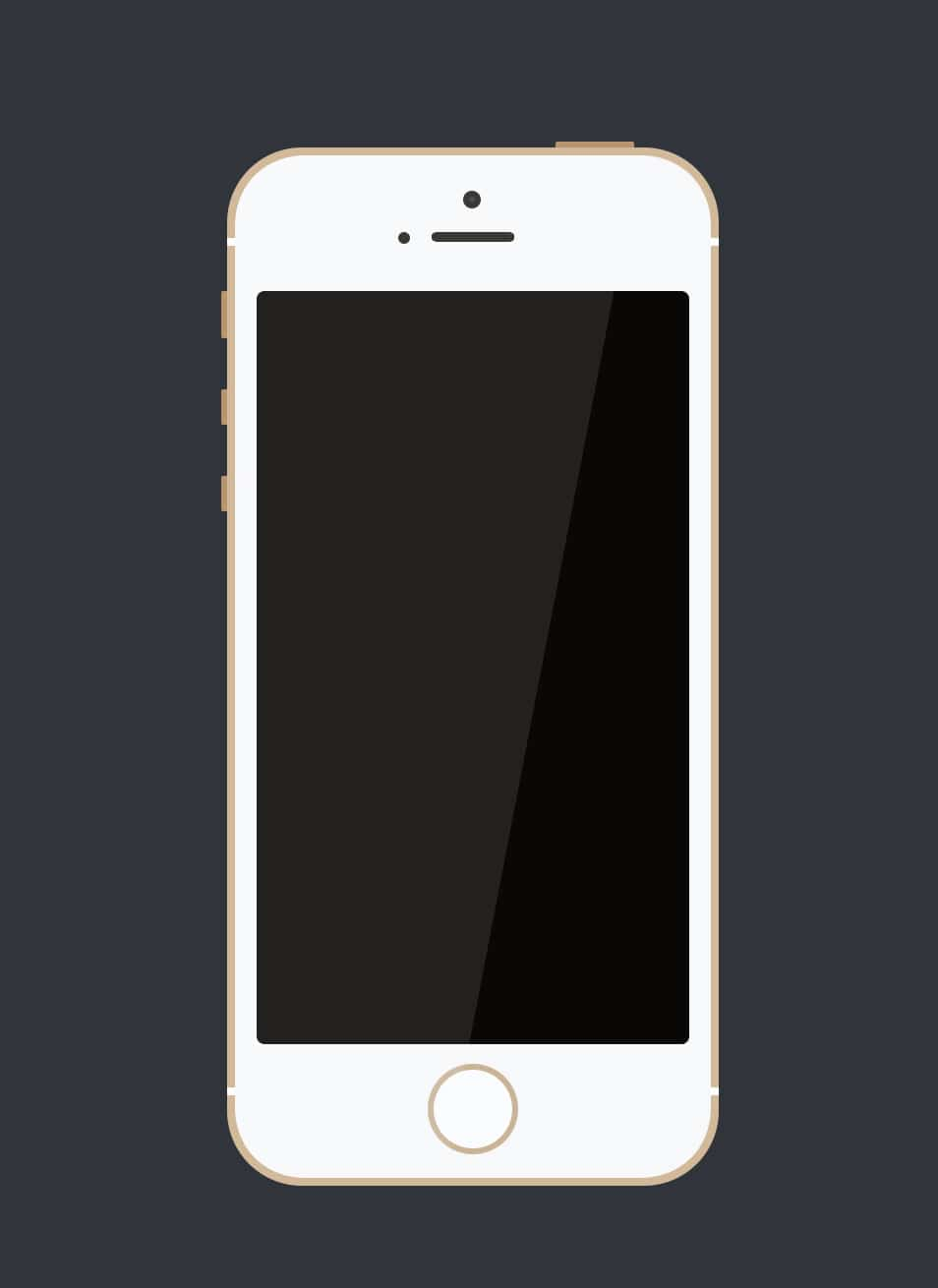 A Simple iPhone 5s (PSD)