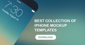 Best Collection of iPhone Mockup Templates