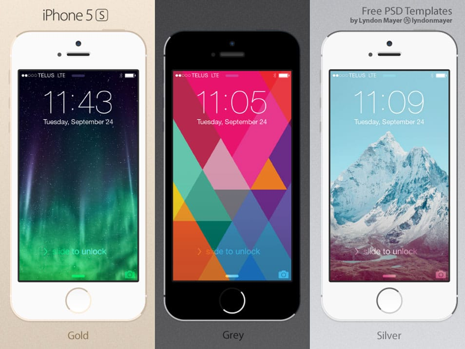 iphone 5s for free best collection of iphone mockup templates css author 14797