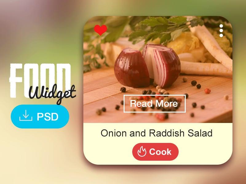 Food Widget