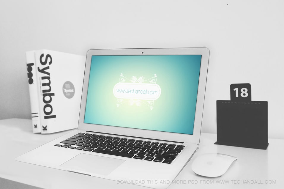 Macbook Air Showcase Mockup