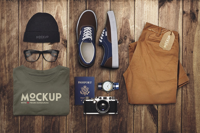 Travel Mock Up