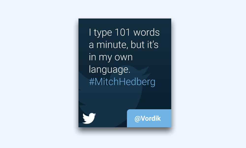 Twitter Widget Free PSD
