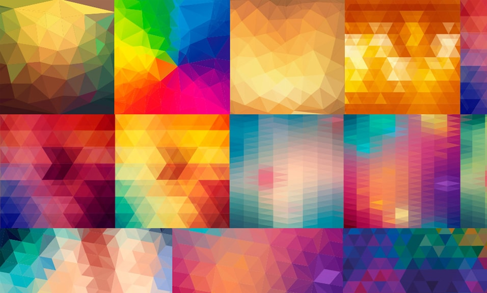 Vector Polygon Backgrounds
