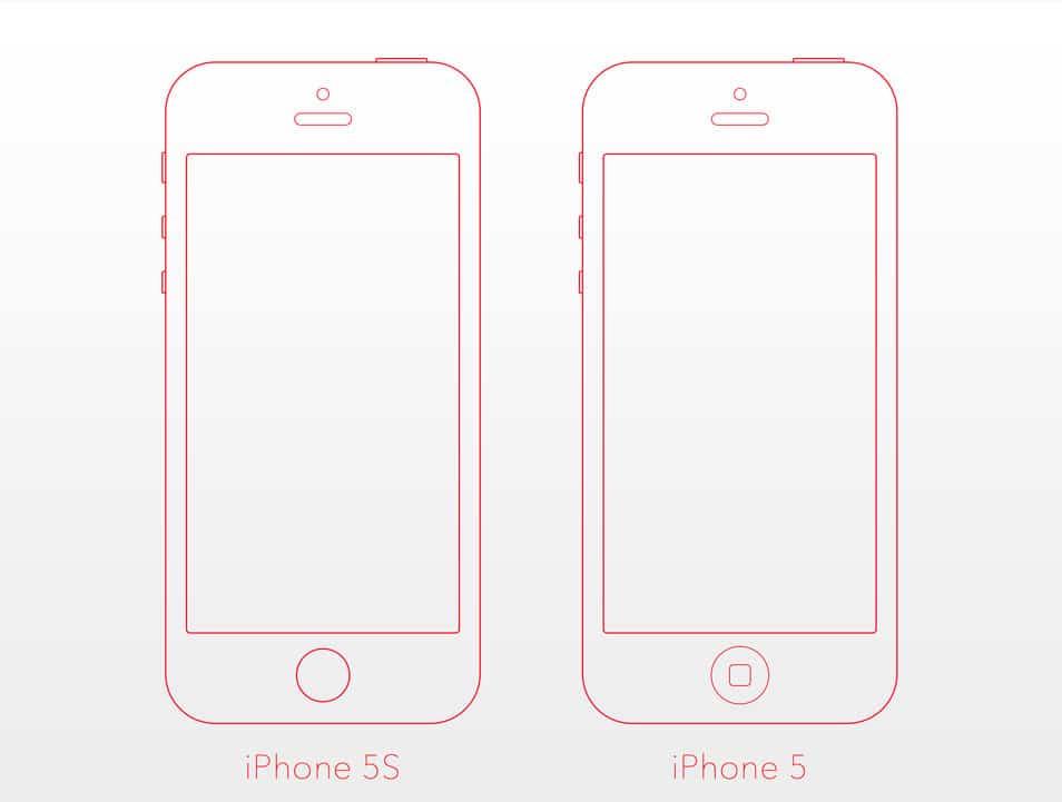 iPhone 5/5S Mockup