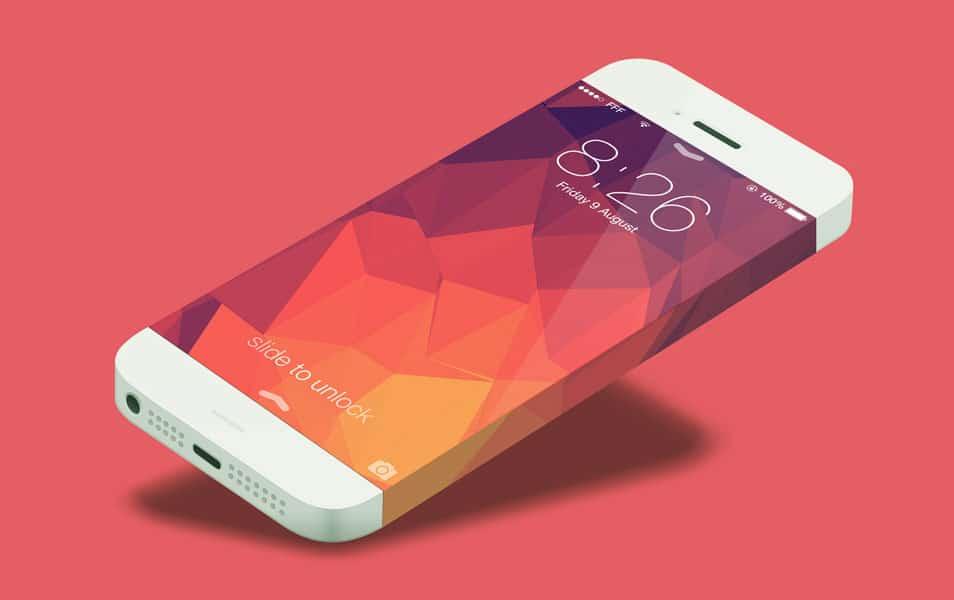 iPhone 6 Infinity Mockup